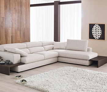 Samoa divani in tessuto angolari
